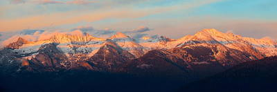 Photograph - Kings Canyon Mountain by Songquan Deng