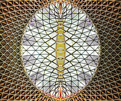 Photograph - King's Cross Lattice, 2014 by Ant Smith