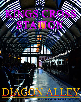 Photograph - Kings Cross Sation Poster by David Lee Thompson
