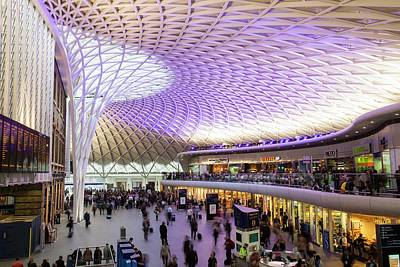 Refurbished Photograph - Kings Cross Station by Ashley Cooper