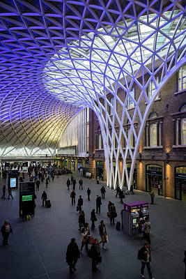Photograph - Kings Cross Station by Win-initiative
