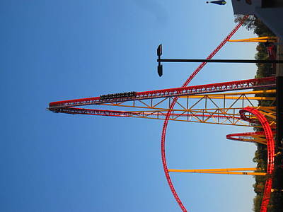 Kings Dominion - Intimidator 305 - 12122 Art Print