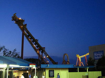 Kings Island - 121241 Print by DC Photographer