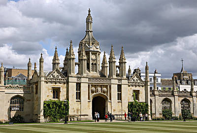 King's Quad Print by Stephen Stookey