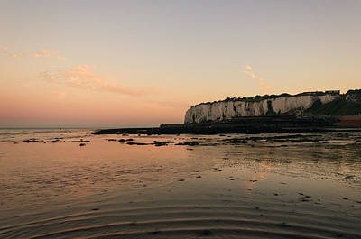 White Cliffs Of Dover Photograph - Kingsdown Kent by Ian Hufton