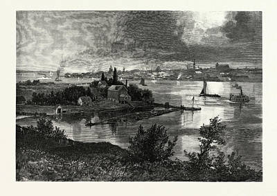 Kingston, From Barriefield, Canada Art Print by Canadian School