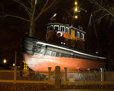 Photograph - Kingston II Tugboat by Kirkodd Photography Of New England
