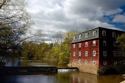 Millstone River Photograph - Kingston Mill April 2014 by Steven Richman