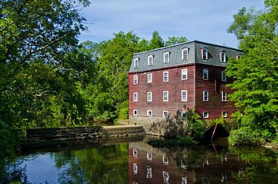 Kingston Mill Princeton Nj Print by Bill Cannon
