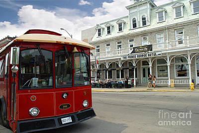 Photograph - Kingston Tram by Brenda Kean