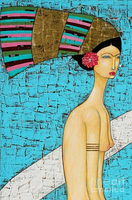 Kahlo Mixed Media - Kini by Natalie Briney