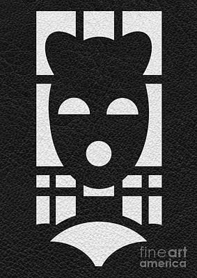 Kinky Time Mask Art Print