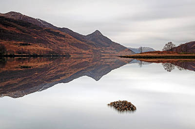 Photograph - Kinlochleven Mountain Reflection by Grant Glendinning