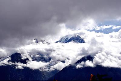 Photograph - Kinner Kailash Hills- Himachal Pradesh- Viator's Agonism by Vijinder Singh