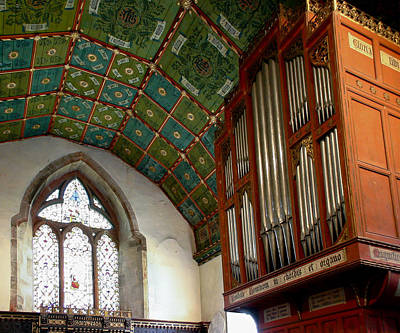 Photograph - Kinnersley Organ by Jenny Setchell