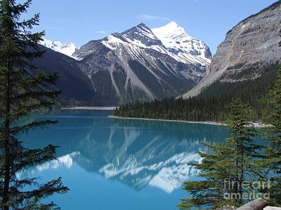 Photograph - Kinney Lake - Canada by Phil Banks