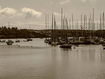 Kinsale Harbor At Dusk Art Print
