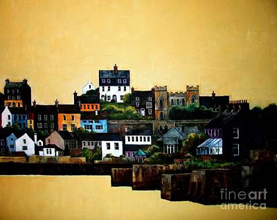 Painting - Cork Kinsale Harbour by Val Byrne