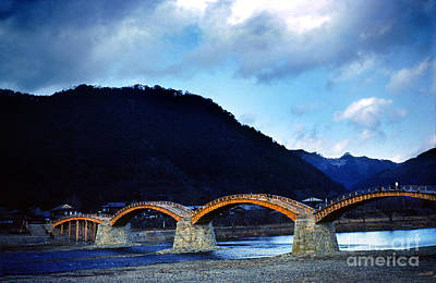 Kintai Bridge Japan Art Print