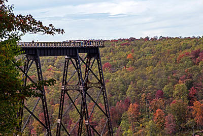 Kinzua Bridge Art Print