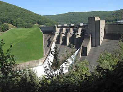 Kinzua Photograph - Kinzua Dam by Monnie Ryan
