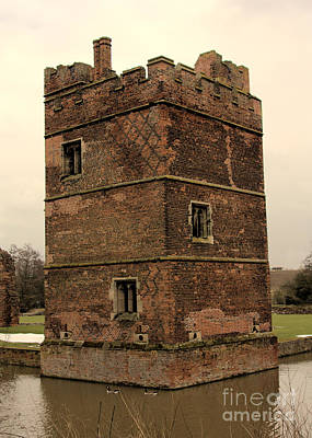 The Red Baron Photograph - Kirby Muxloe Castle by Linsey Williams
