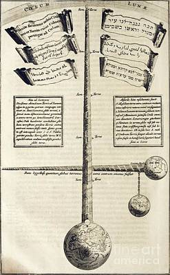 Hebrew Stories Photograph - Kircher's Tower Of Babel, 17th Century by Asian And Middle Eastern Division