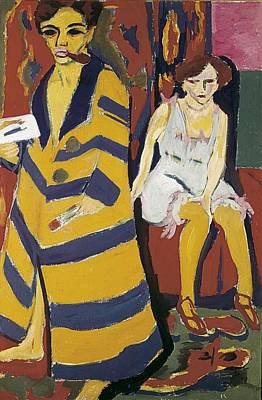 Kirchner, Ernst Ludwig 1880-1938 Art Print by Everett