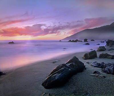 Kirk Creek Beach, Big Sur, California Art Print