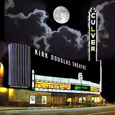 Staley Art Photograph - Kirk Douglas Theatre by Chuck Staley