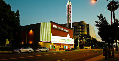 Kirk Douglas Theatre, Culver City, Los Art Print