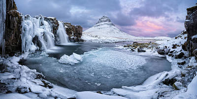 Iceland Wall Art - Photograph - Kirkjufell Pool by Ivan Pedretti