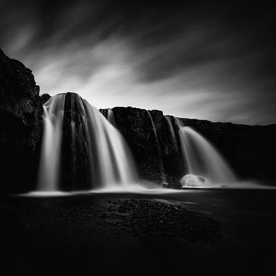 Photograph - Kirkjufellsfoss by Frodi Brinks