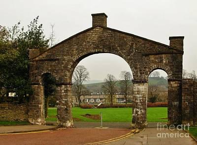Photograph - Kirklands Gateway Kendal by Joan-Violet Stretch
