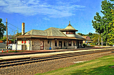 Kirkwood Station Art Print by Marty Koch
