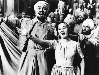 Arabian Attire Photograph - Kismet, From Left Howard Keel, Ann by Everett