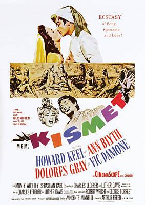 Kismet, Us Poster Art, Top From Left Art Print by Everett
