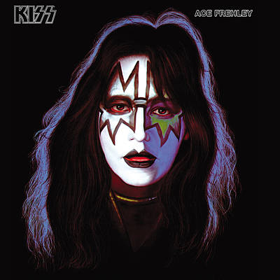 Heavy Metal Photograph - Kiss - Ace Frehley by Epic Rights