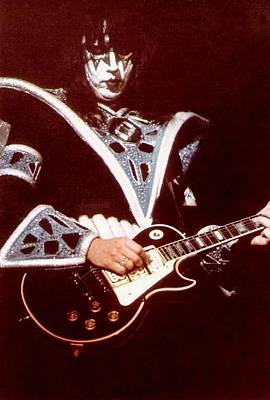 Ace Frehley Photograph - Kiss Ace by Kevin Bohner