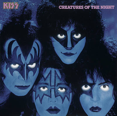 Singer Photograph - Kiss - Creatures From The Night by Epic Rights