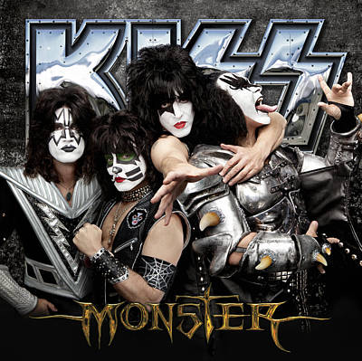 Cat Kiss Photograph - Kiss - Monster (2012) by Epic Rights