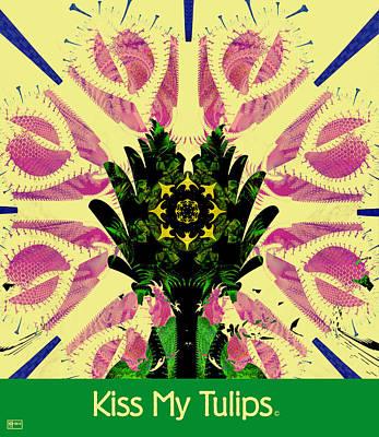 Kiss My Tulips Art Print by Jim Pavelle