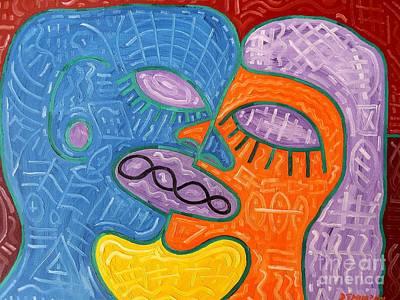 Kiss Print by Patrick J Murphy