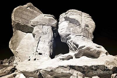 Photograph - Kissing Rocks by John Rizzuto