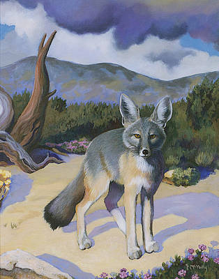Painting - Kit Fox by Susan McNally