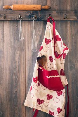Apron Photograph - Kitchen Apron by Amanda Elwell