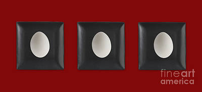 Digital Art - Kitchen Art - Eggs by Aimelle