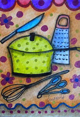 Painting - Kitchen Art by Pristine Cartera Turkus
