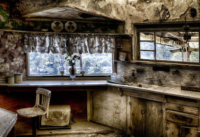 Photograph - Kitchen At Nitt Witt Ridge by Robert Woodward