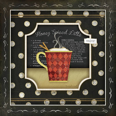 Kitchen Cuisine Coffee II Art Print